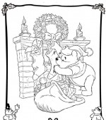 coloriage noel disney 014